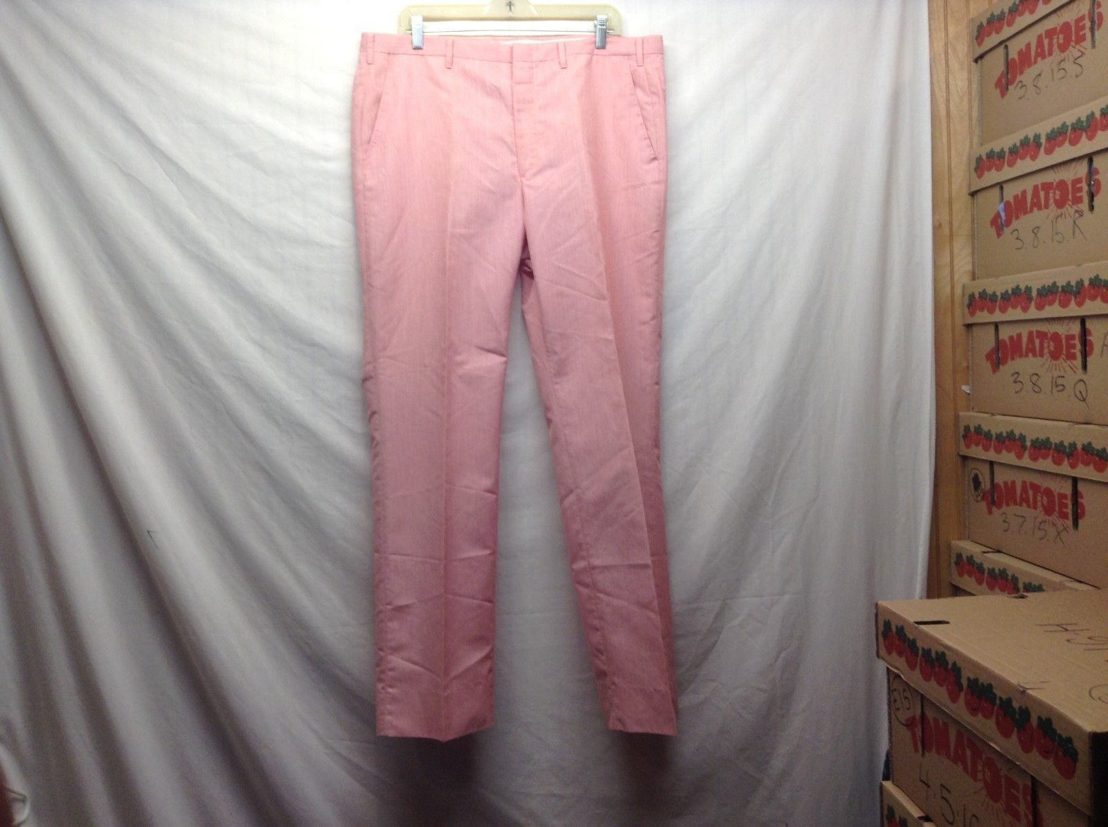 Ladies Vintage Coral Colored Suit Pants