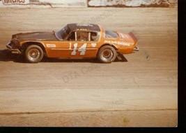 AL SCHILL #14 ASA LATE MODEL STOCK CAR RACE PHOTO 1977 FN - $17.46