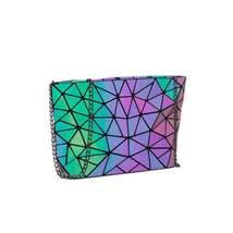 Luminous Chain Bag/Geometric Chain Bag/Luminous Shoulder Bag/Luminous Bags - $16.99