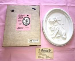 Vintage 1970s Walt Disney PLUTO PLAQUE Character Paint On Ceramic Bisque NOS - $130.90
