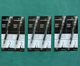 Lot 2 COVERGIRL Perfect Blend Eyeliner Pencil Basic Black Brown Charcoal 0.85 oz - $8.99