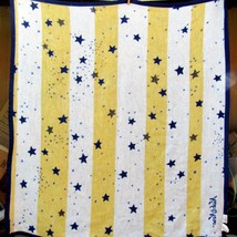 Biederlack Nick and Nora Throw Blanket Stars Night Sky 50 x 55 Made in t... - €61,55 EUR