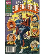 (CB-8) 1990 Marvel Comic Book: Marvel Super-Heroes Winter Special  - $3.00