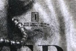 VTG RCN Red Carpet Noir 1985 Marilyn Monroe Shirt T-Shirt JR Womens L Ba... - $36.00