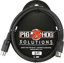 Pig Hog MIDI Cable 3 ft. - $11.30