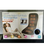 Double Sided Full Body Vibrating Massage with Heat In Home Health Spa - $28.99