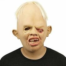 Novelty Latex Rubber Creepy Scary Ugly Baby Head the Goonies Sloth Mask - $29.66 CAD