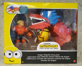 Minions Dragon Disguise Dragon Story Pack Action Figure Two-Pack  Kids A... - $21.22