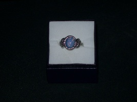 Opal  ring and earrings size 8 - $35.00