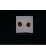 ladybug earrings - $2.00