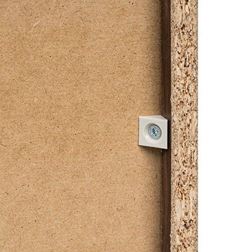 """IRIS USA, UB-9015, Slim Space Saving Shelf with Adjustable Shelves, 6 x 34"""", Wal"""