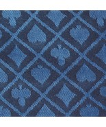 10' section of blue two-tone poker table speed cloth - Polyester by Bryb... - $42.99