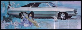 1967 Ford Deluxe Brochure, 500, XL, LTD, Galaxie XLNT - $16.70