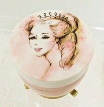 Here's My Heart Cream Sachet Glass Jar in Stand Avon T37 - $16.34