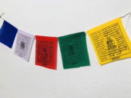 Tibetan Taxi Prayer Flags, Nepal - $2.49