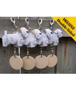 Sealyham Terrier Deluxe crate tag double sided,... - $18.00