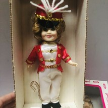 """VINTAGE 1982 Ideal Shirley Temple 8"""" Vinyl Doll Poor Little Rich Girl Band Leade - $29.60"""