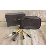 NIB Bobbi Brown Stardust Collection 4pcs Mini Brush Set, Face Blender/Blush/Eye - $64.99