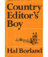 Country Editor's Boy by Hal Borland - Hardcover - Good - $3.50