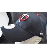 Minnesota Twins New Era Snapback Baseball Hat 3D Logo Black 6 Panel With... - $25.47