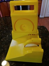 Vintage Ideal Evel Knievel Stunt Cycle Launcher Charger Energizer Yellow - $79.95
