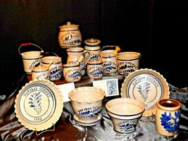 Daviess County WESTERWALD Pottery 14 piece collection AB 319 image 9