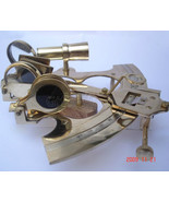 """6"""" SEXTANT SOLID BRASS NAUTICAL MARINE INSTRUMENT,Unique Hobby Idea gift - $59.99"""