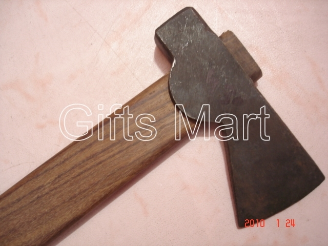 The 9th Century Medieval Viking Axe Bearded Axe with point medieval weapon,