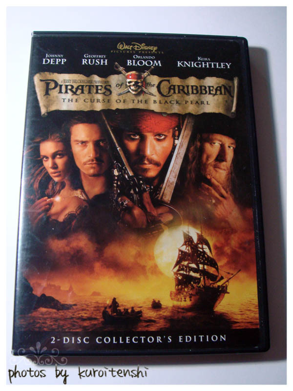 Used Pirates of the Caribbean The Curse of the Black Pearl