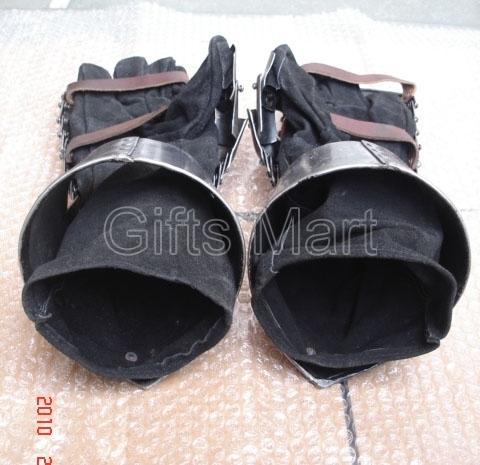 Combat Mitten Gauntlets - Medieval armour gloves, Reenactment GAUNTLETS ArmourME
