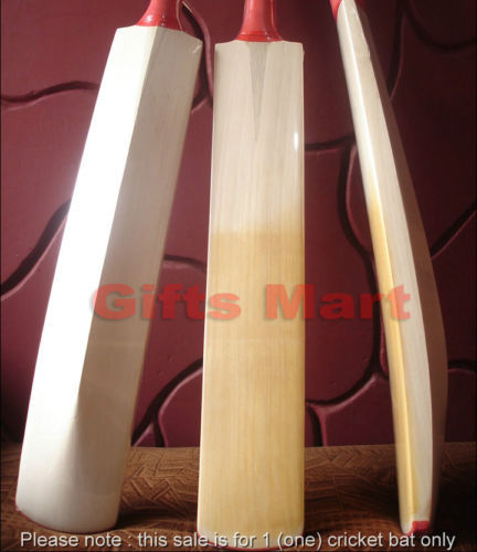 Custom Cricket Bat Hand Made English Willow, +Scuff Sheet,Cover, Sale Only GBP33