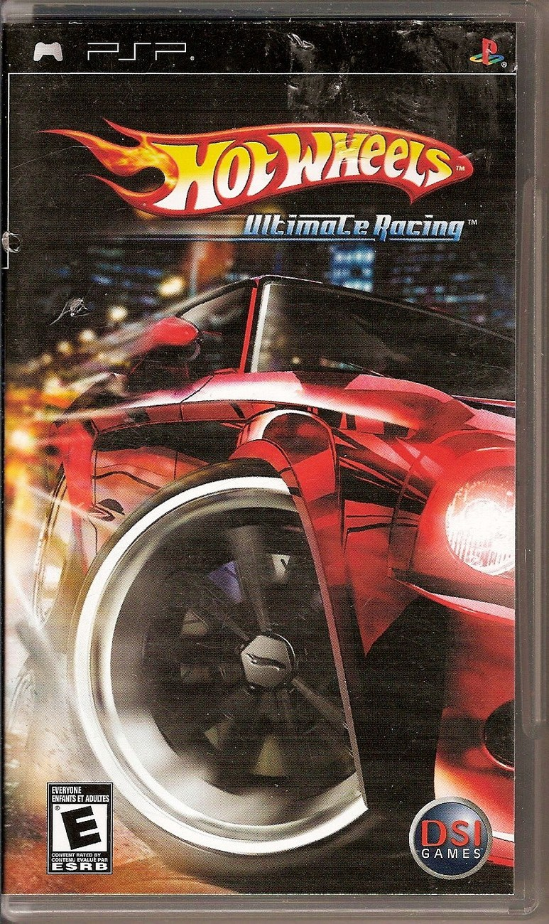 hot wheels ultimate racing psp video game sony 2007 video games. Black Bedroom Furniture Sets. Home Design Ideas