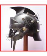 GLADIATOR HELMET Medieval Roman Greek MAXIMUS Helmets Armor Dress Replica - $51.00