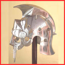 GLADIATOR HELMET Roman Greek Armor MAXIMUS Helmets,Colosium Fight Helmets - $40.00