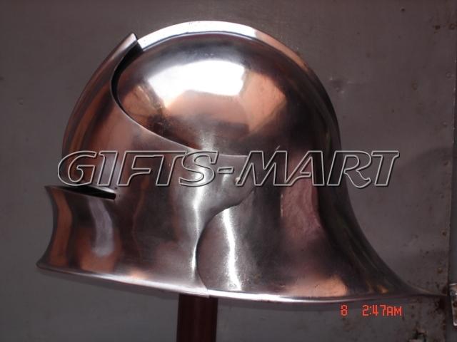 German Sallet Helmet Closehelm, Militaria,Armor,Helmets Fancy Uniform,Costume *