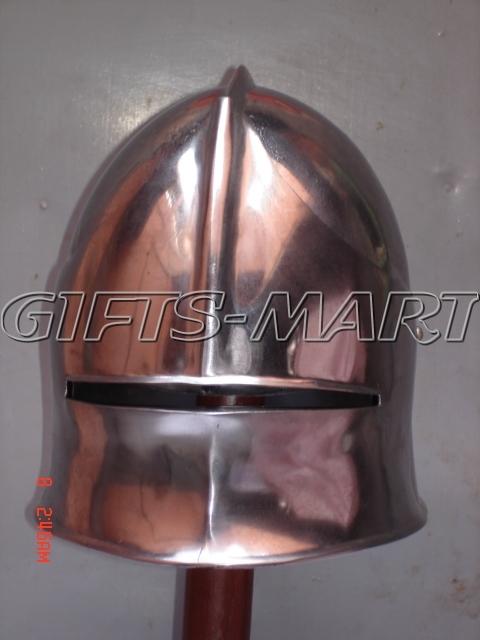 German Sallet Helmet Seleta Closehelm, Militaria,Armor,Helmets Military Uniform
