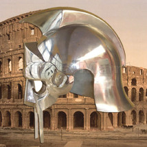 Gladiator Maximus Helmet, Roman ARENA Helmets Armor, Medieval, Greek, Ro... - $36.00