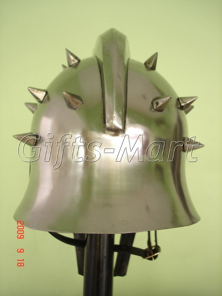 Gladiator Maximus Helmet, Roman Helmets +free Leather Inner Liner,