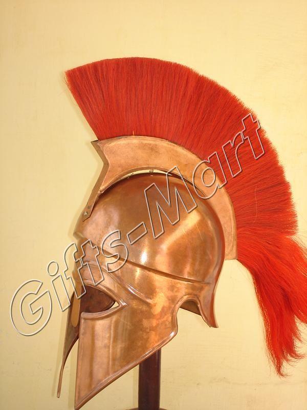 Greek CORINTHIAN HELMET Medieval SCA Roman Helmets, CR Militaria Armor