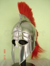 Greek Corinthian Helmet Medieval Military Armor Helmets, Armor Costume,MovieProp - $102.00