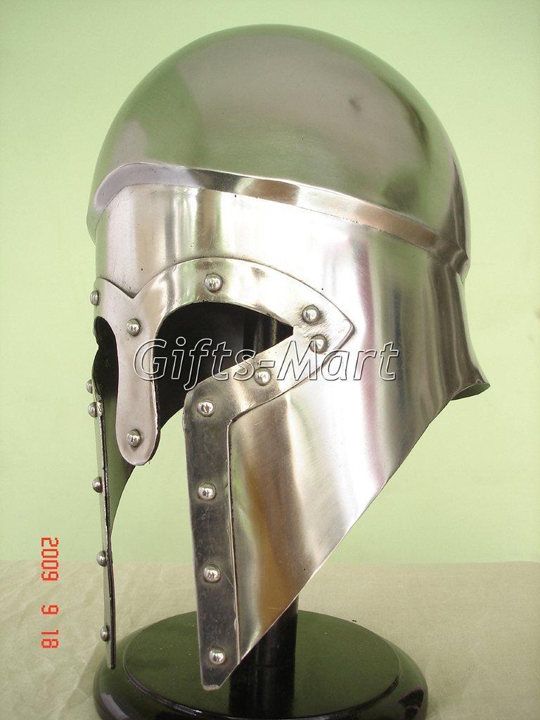 Italo Corinthian Helmet Medieval Roman Greek Armor Unique Fancy Party Costume Dr