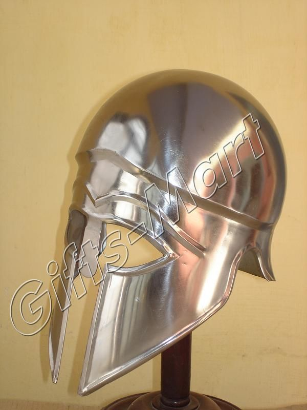 KORINTHER HELM Rüstung Ritterhelm Medieval Corinthian KnighHelmet Greek Armou