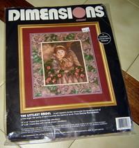 "Dimensions Crewel The Littlest Angel Kit (#1443) 14"" X 16"" - $11.66"