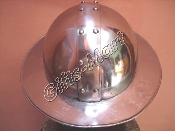 Kettle Helmet, Chapel-De-Fer Helmets, Medieval Armour, Spanish Armor