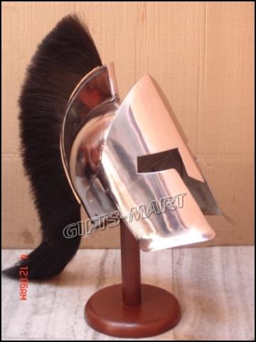 Leonidas Helm MIttelalter LARP Gothic Riterhelm Sparta Rüstung Gothic Helm 30