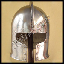 Medieval Barbuta Helmet, Reenactment Armor Barbute Helm, Ancient Colleci... - $59.99