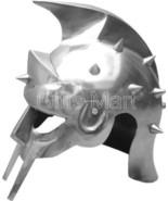 Medieval Gladiator Helmet Maximus Greek Armor,Movie,Stage,Drama,Replica,... - $72.00