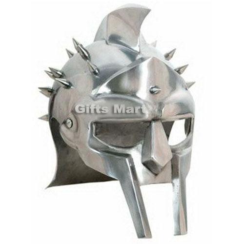 Medieval Roman Gladiator Maximus Armor Helmet Helm LARP,Militaria Movie,Drama