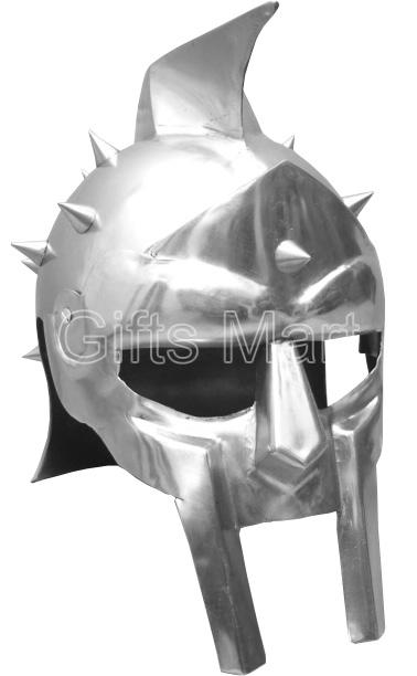 Medieval Roman Gladiator Maximus Helmet Armor, Adult size Fully Wearable Replica