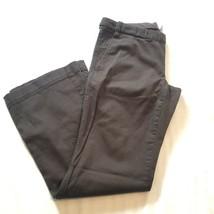 Gap Maternity Stretch Cotton Pants Size 8 Brown - $13.30